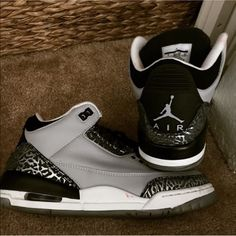 23b0454b1d5c90 14 Best wolf grey 3s jordan for sale images