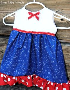 Baby Dress tutorial  (can adjust to make larger)
