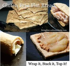 Living Free | Gluten Free Flat Bread, a recipe re-introduction. Wrap it, stack it, top it!