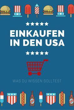 Einkaufen in den USA ist anders. Lese hier was du über das shopping in Amerika wissen solltest. #UsaBilligAberGutLeben