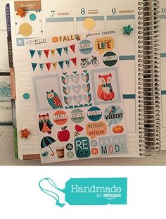 NOVEMBER, FALL Weekend, Erin Condren Planner Stickers, Erin Condren Stickers, Life Planner Stickers, Planner Accessory, Filofax (FALL-W01) from Confetti Paperie https://www.amazon.com/dp/B01N3SBCGS/ref=hnd_sw_r_pi_dp_Llgiyb1EE4XE4 #handmadeatamazon