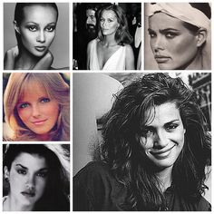 The top fashion models of the 1970s were Lauren Hutton, Margaux Hemingway, Beverly Johnson, Gia Carangi, Janice Dickinson, Cheryl Tiegs, Jerry Hall, and Iman.