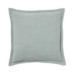 Weave | AUSTIN CUSHION Seafoam Color, Warwick Fabrics, Sea Foam, Satin Fabric, Drapery, Upholstery, Weaving, Cushions, Colours