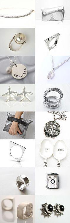 Silver love by SHUNA on Etsy--Pinned with TreasuryPin.com