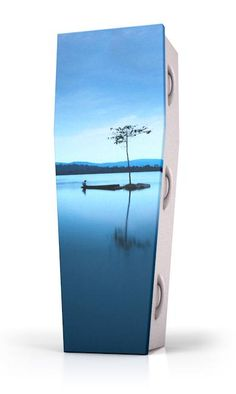 Dutch Funeral Design - Coffin Nature - Natuur - Island Tree