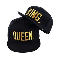 King and Queen Couple Matching Hats | His and Hers Gift Ideas Best Boyfriend, Boyfriend Gifts, Boyfriend Ideas, Kings & Queens, Girl Baseball Cap, Sports Baseball, Snapback Caps, Hip Hop Girl, New Fashion