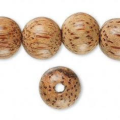 20 pcs 20mm waxed coconut shell wooden wood flat beads jewellery making findings
