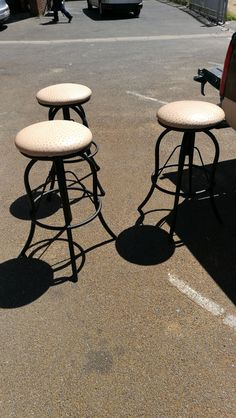 Heavy duty bar stools great look Metal Bar Stools, Industrial Style, Modern, Furniture, Home Decor, Trendy Tree, Decoration Home, Room Decor, Home Furnishings