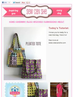 Check out this Mad Mimi newsletter Refashion, Bag Making, Purses And Bags, Tote Bag, Sewing, Totes, How To Make, Quilting, Bob