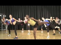 Club Energize TV - Lower body workout.
