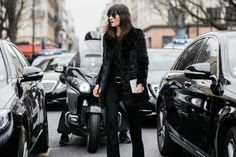 Paris Fashion Week Street Style F/W 2015-16. Click on the image to see more.