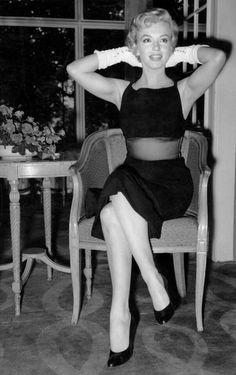 Marilyn Monroe, London, 17th July, 1956