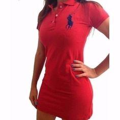 0ad1836f29e Vestido Gola Polo Feminino Super Oferta. P m g gg