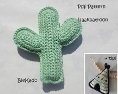 Haakpatroon cactus + gratis patroon tipi NL & EN