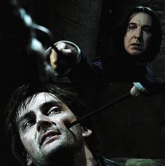 Barty Crouch Jr. AND Professor Snape?? Yes please!