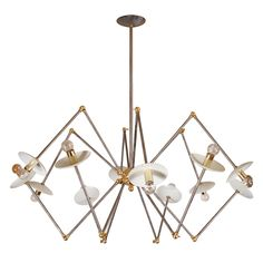 "Designers Original Custom-Made in Steel and Brass ""LB-71"" by Lou Blass 