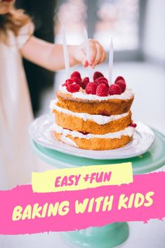 The 5 Best Cookbooks for Baking With Kids - Oheyou Vegan Baking Recipes, Kids Cooking Recipes, Birthday Cake For Brother, Special Birthday, Happy Birthday Cake Images, Cake Recipes, Dessert Recipes, Kids Cookbook, Cake Accessories
