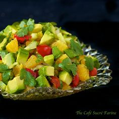 Orange & Avocado Salsa from @Chris @ The Café Sucré Farine