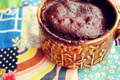Guilt Free 2 Minute Chocolate Mug Cake. Low GI, High in Protein, Gluten Free, Refined Sugar Free and YUM!
