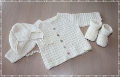 hentesett baby sommer - Google-søk H Design, Knitting For Kids, Barn, Sweaters, Google, Fashion, Tricot, Moda, La Mode
