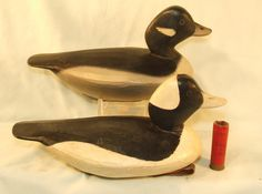 """ Hurricane "" Pete Peterson OP Bufflehead pair - $475"