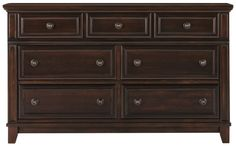 The Harwich dark tone dresser proves that good design never goes out of style. Detailed with recessed paneling and turned hardware, this dresser appeals to traditional tastes with its clean lines and easy storage. Traditional Taste, City Furniture, Industrial Furniture, Dresser, Cool Designs, Dark, Things To Sell, Home Decor, Powder Room