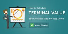How to Calculate Terminal Value: The Most Comprehensive Guide! (Updated 2017)  Click to read the full article on website: https://wealthyeducation.com/how-to-calculate-terminal-value/  #investing #‎stockmarket‬ ‪#‎makemoney