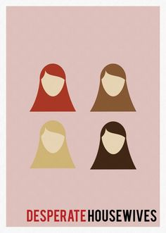Desperate Housewives Minimalist Poster Serie Tv Show