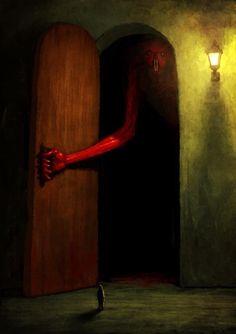 Horror Art by Suguru Tanaka Creepy Drawings, Horror Artwork, Arte Obscura, Macabre Art, Arte Horror, Creepy Art, Monster Art, Dark Fantasy Art, Fantasy Inspiration