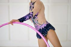 Rhythmic gymnastics leotard competition ice by artmaisternia
