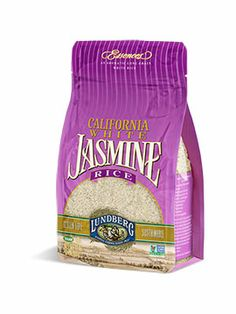 Lundberg Jasmine Rice.  Love it for breakfast, lunch, or dinner.