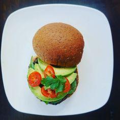Black Bean Burger – Totally Fit Mama