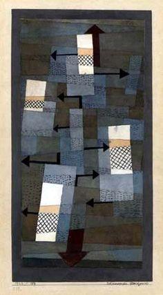Paul Klee - Schwankendes Gleichgewicht 1922