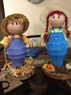 Flower pot dolls...: