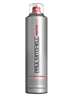 Best of Beauty 2015 Winner: The best heat protecting hair styling spray -- Paul Mitchell Hot Off the Press | allure.com