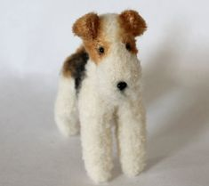 Wire Fox Terrier 16.5cm  PDF dog sewing pattern by EmmaHallArt