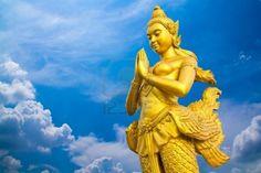 Kinnari, mitología Tailandia.