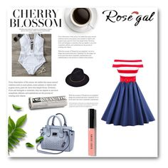 """""""Rosegal"""" by selmedina ❤ liked on Polyvore featuring Bobbi Brown Cosmetics"""
