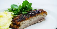 A roast lunch of crisp pork belly is entertaining at its best without the fuss.