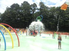 The Stir Crazy Moms' Guide to Durham: Fuquay-Varina sprayground