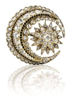 AN OTTOMAN DIAMOND BROOCH, TURKEY, EARLY 20TH CENTURY