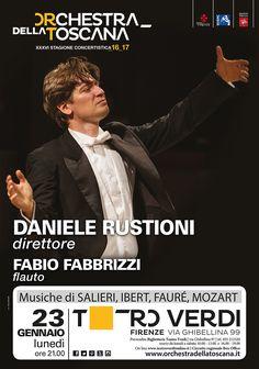 Concerto Rustioni_Fabbrizzi Stagione 2016_17 | grafica Ufficio Comunicazione ORT | foto Marco Borrelli