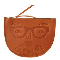 Donna Wilson Johnny Leather Pouch