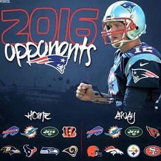 2016 OPPONENTS