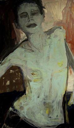 kundst:  Barbara Kroll (Ger. 1960) Skizze (2016)