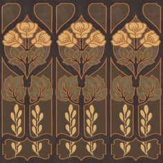 The Wallpaper Company 20.5 in. x 15 ft. Mocha Large Trellis Border - WC1282354 - The Home Depot
