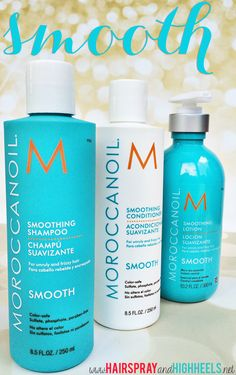Moroccanoil Smooth Collection Review #hair #beauty