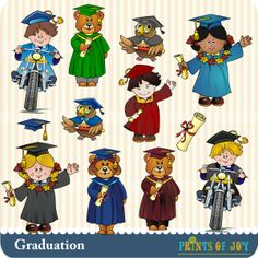 Graduation 1 - Clip Art by Prints of Joy : Digi Web Studio, Clip Art, Printable Crafts & Digital Scrapbooking!