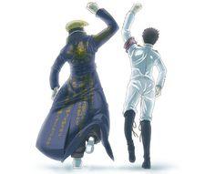Mondo Oowada and Ishimaru Kiyotaka