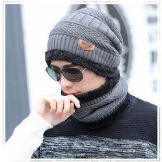 2017 зима взрыв вязаная шапка мужская Осенние и зимние модели из двух частей женские шляпы шапка зимняя мужская зимняя шапка